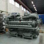 Motor listo para ser embarcado del Proyecto A 102