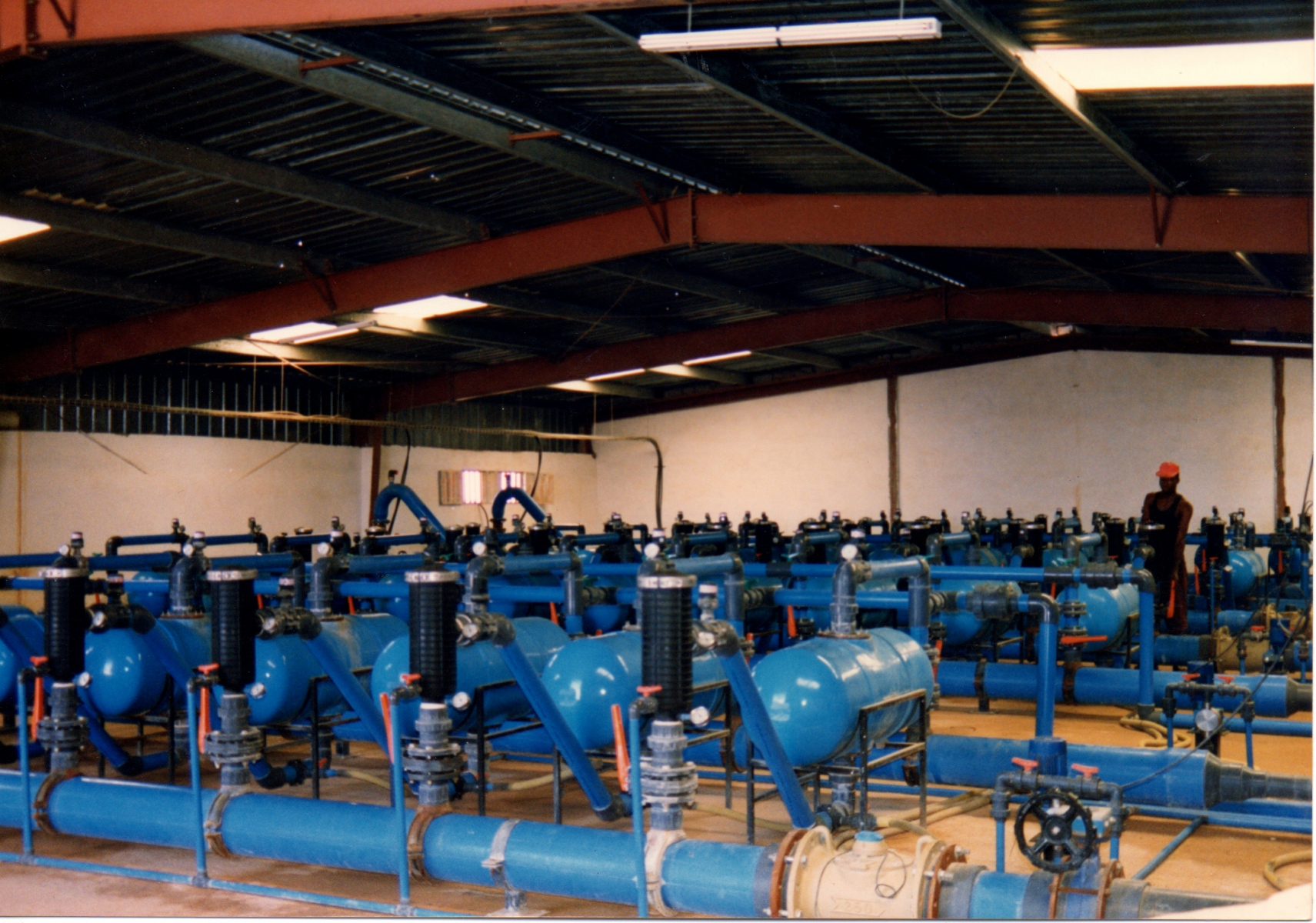 Instalacion filtracion de agua