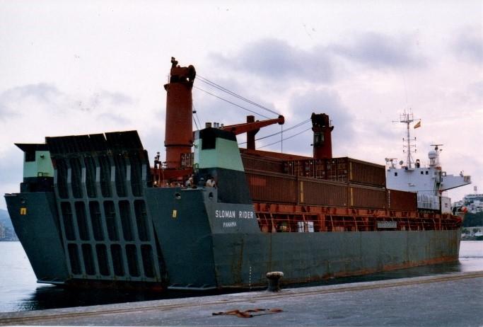Primer embarque de material de Cartagena a Mostaganem